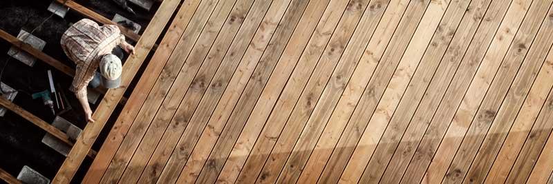Welche Holzarten eignen sich für die Terrasse?