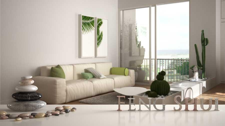 Ein Hauch von Feng-Shui im Wohnzimmer