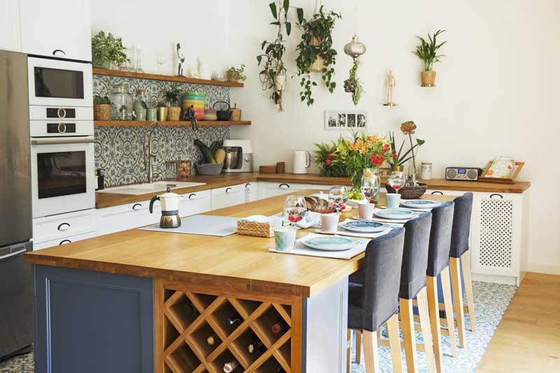 Ideen für eine mediterrane Kücheneinrichtung