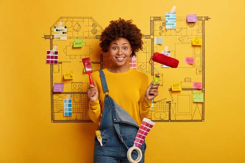 Beliebte Deko-Ideen für die Wand – tolle Alternativen zu Tapete