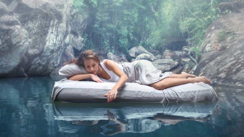 Gesund und hygienisch schlafen mit einem Wasserbett