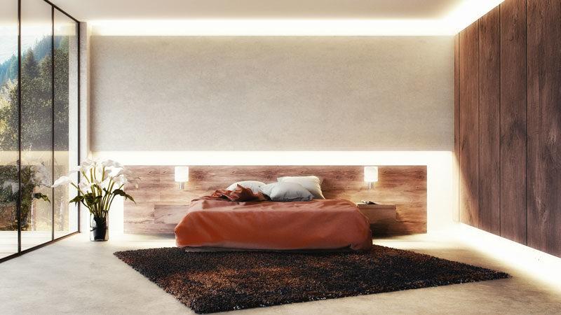 Die Wirkung von indirekter Beleuchtung