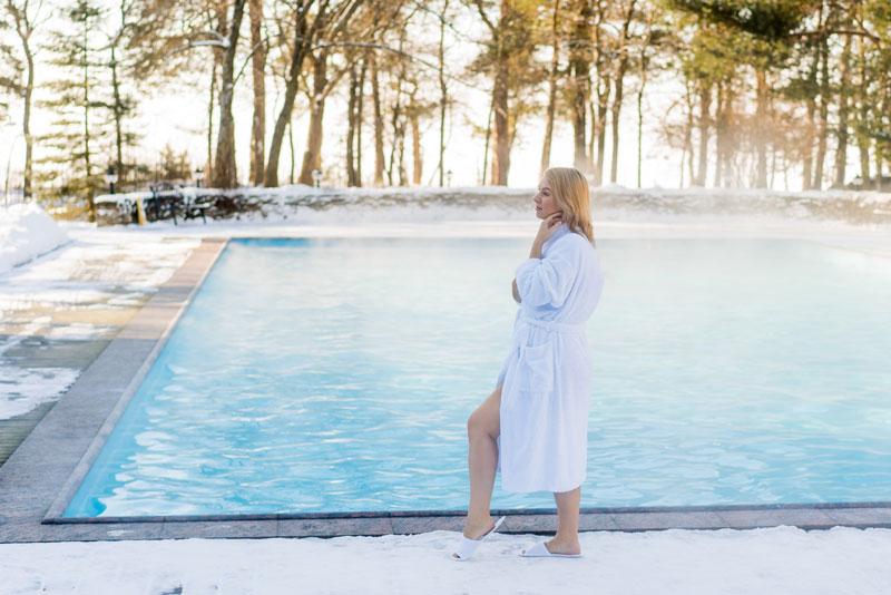 Poolheizung im Winter – Lohnt sich das?