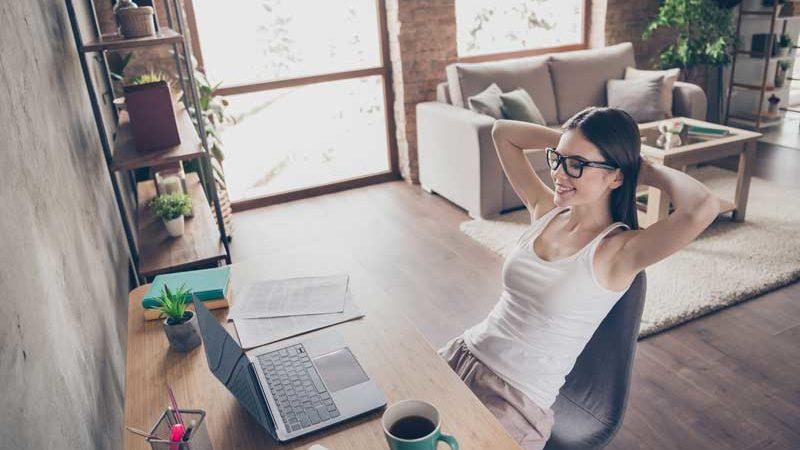 Arbeiten mit Ambiente – Einrichtungsideen für das Büro/Homeoffice