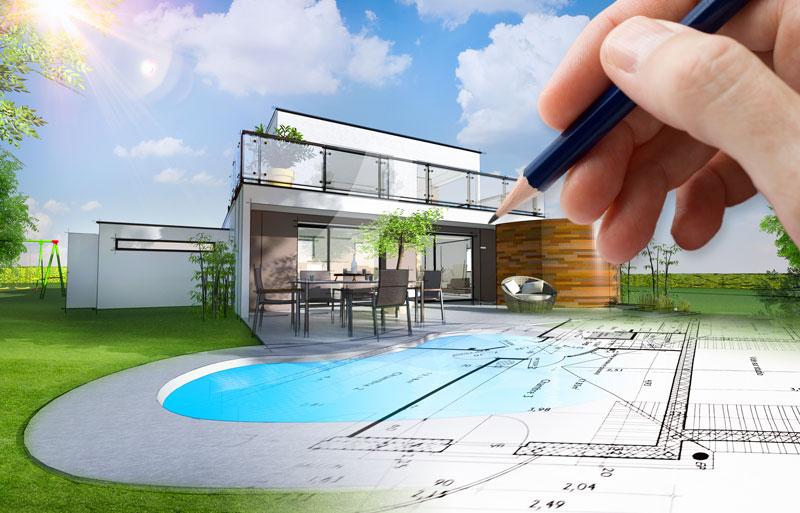 Wenn das Gartenhaus zum Stil passen soll: Flachdach Gartenhäuser