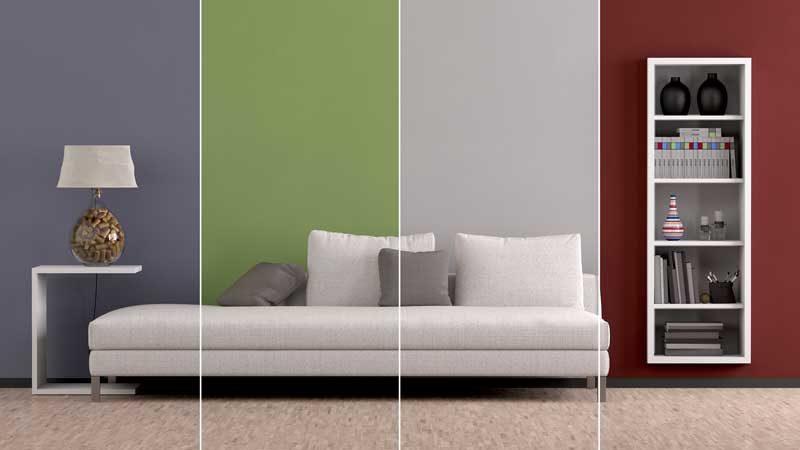 Einrichten nach Farben – die psychologische Wirkung von Schwarz, Blau, Rot und Co