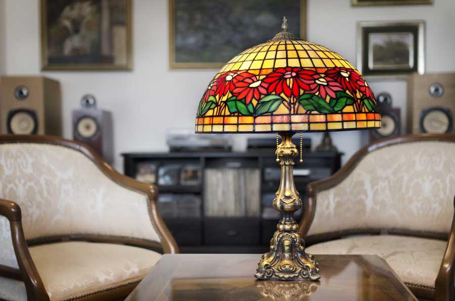 Tiffany Lampen: Wahre Glaskunst