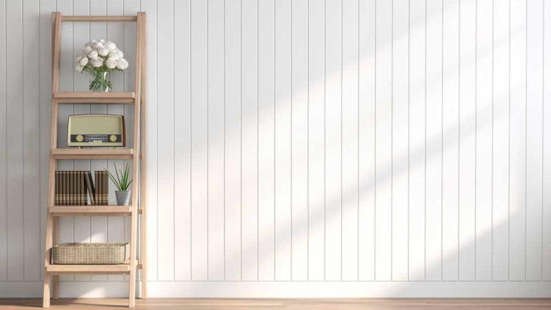 Verkleiden von großen Wandflächen mit Wandpaneelen